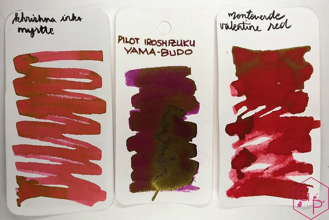 Krishna Inks Myrtle Fountain Pen Ink Review @PenChalet 6