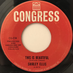 SHIRLEY ELLIS:THE CLAPPING SONG(CLAP PAT CLAP SLAP)(LABEL SIDE-B)