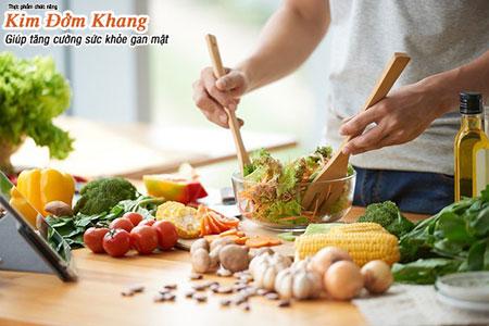 Chế độ ăn uống hợp lý sau cắt túi mật giúp người bệnh chóng hồi phục sức khỏe