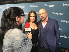 Sheila & Richard Schiff at The Good Doctor Season One For Your Consideration Screening Red Carpet Arrivals -