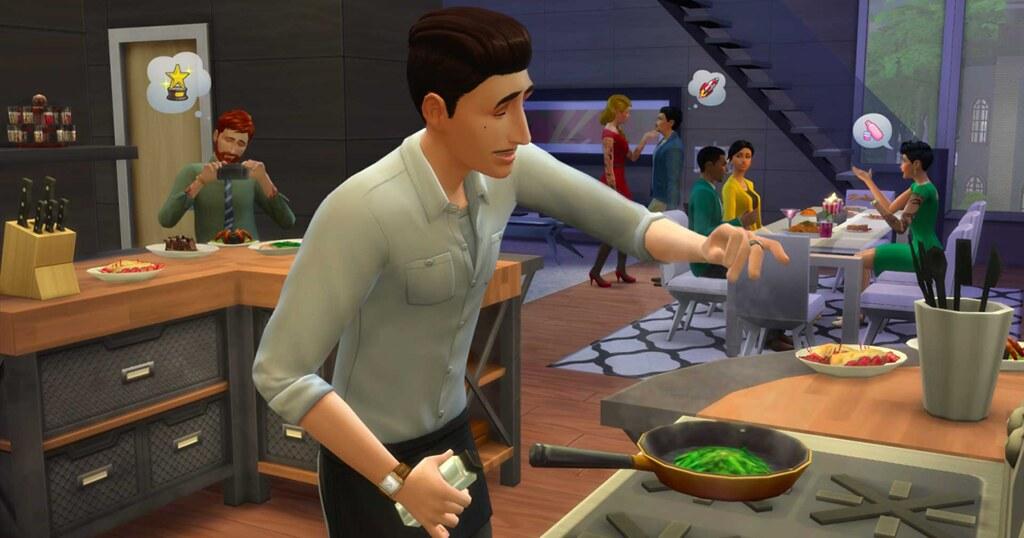 Foto de Divirta-se com seus Sims e a Gastronomia