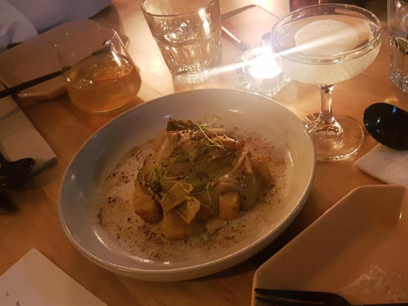 DOMA sweet potato gnocchi