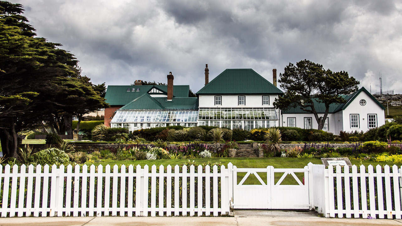Government House at Stanley, Falkland Islands
