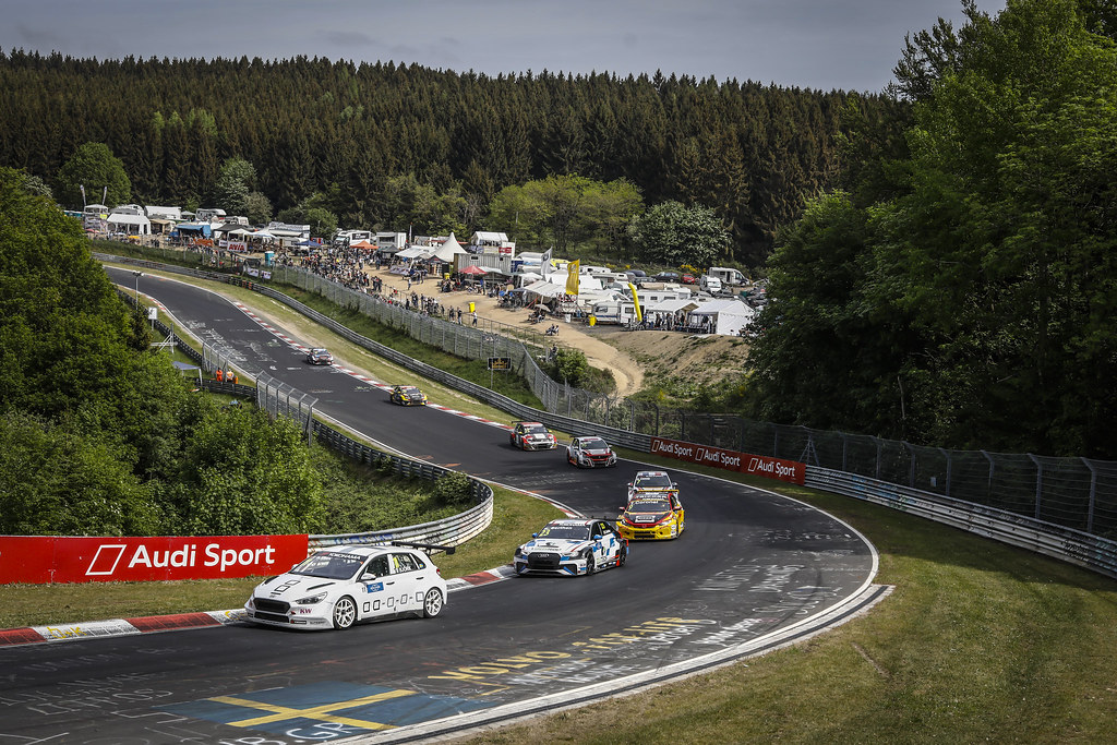 11 BJORK Thed (SWE), YMR, Hyundai i30 N TCR, action during the 2018 FIA WTCR World Touring Car cup of Nurburgring, Nordschleife, Germany from May 10 to 12 - Photo Francois Flamand / DPPI