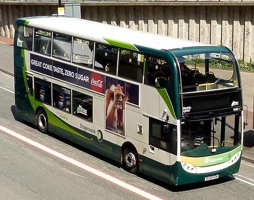SL63 FZM 'Stagecoach Manchester' No. 12230. 'ADL' E40 Hybrid / 'ADL' Enviro 400 on 'Dennis Basford's railsroadsrunways.blogspot.co.uk'