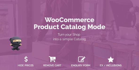WooCommerce Product Catalog Mode v1.5.2