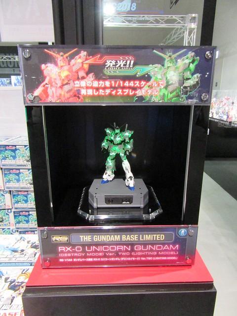 RG 1/144 Unicorn Gundam [Destroy Mode] Lighting Model ver. TWC