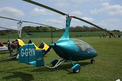 G-GRYN AutoGyro Europe Calidus 09 (RSUK/CALS/003) Popham 040514