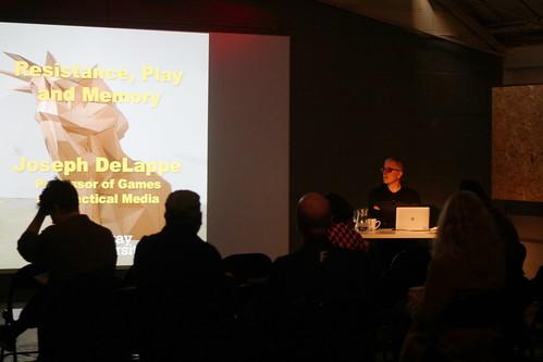 Joseph DeLappe presentation