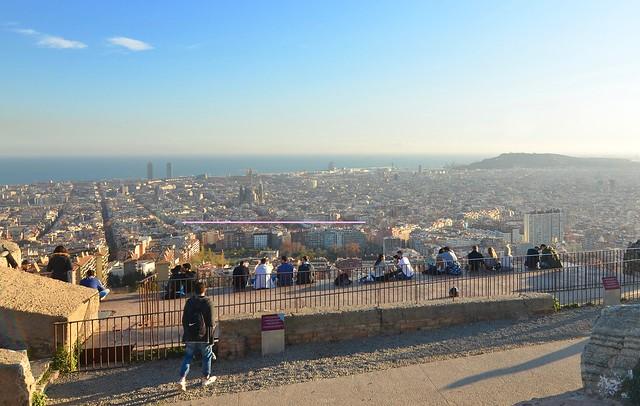 Näköala Barcelona
