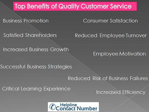 Top 10 Benefits of Quality Customer Service