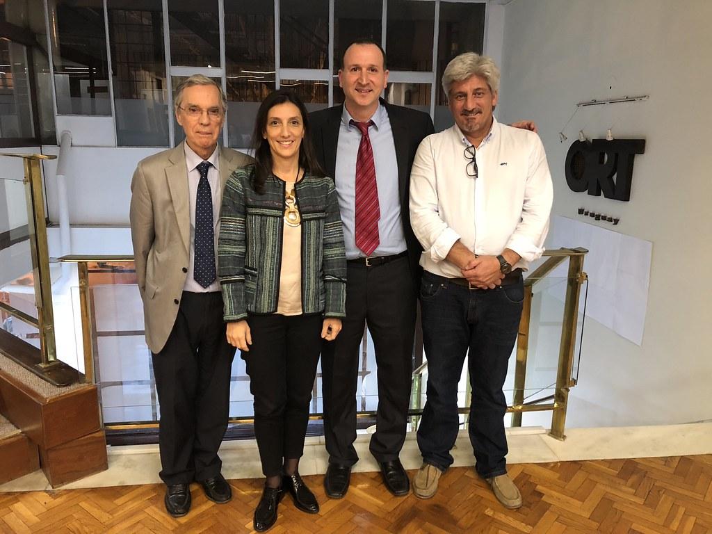 Visita del Dr. Boaz Mizrahi, de Technion - Instituto Tecnológico de Israel