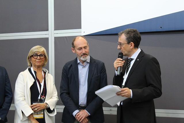Maria-Luisa Coppa, Antonio Zaglia et Paolo Ambrosini