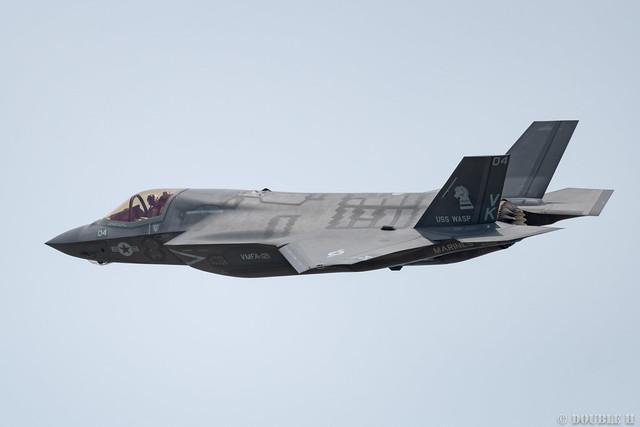 Iwakuni FD 2018 (71) VMFA-121 F-35B VK-04/169168