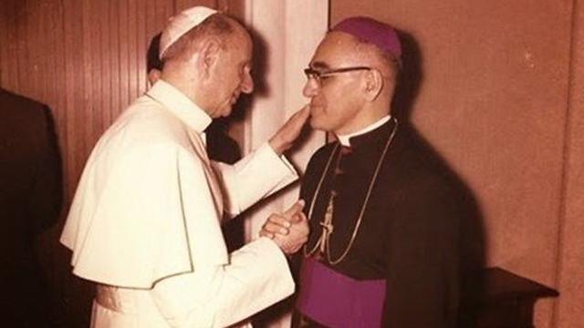 Pablo VI y Mons Romero