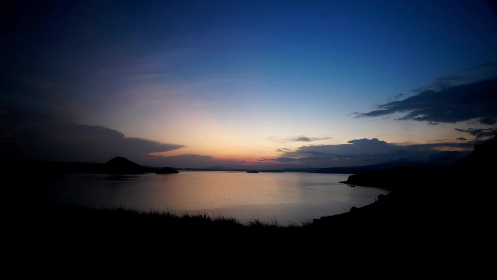 Sunrise at Padar Island, Komodo, Flores