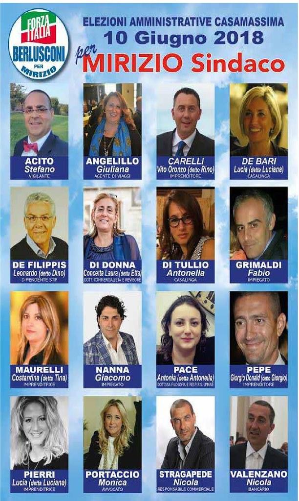 Elezione Casamassima 2018 Liste 3