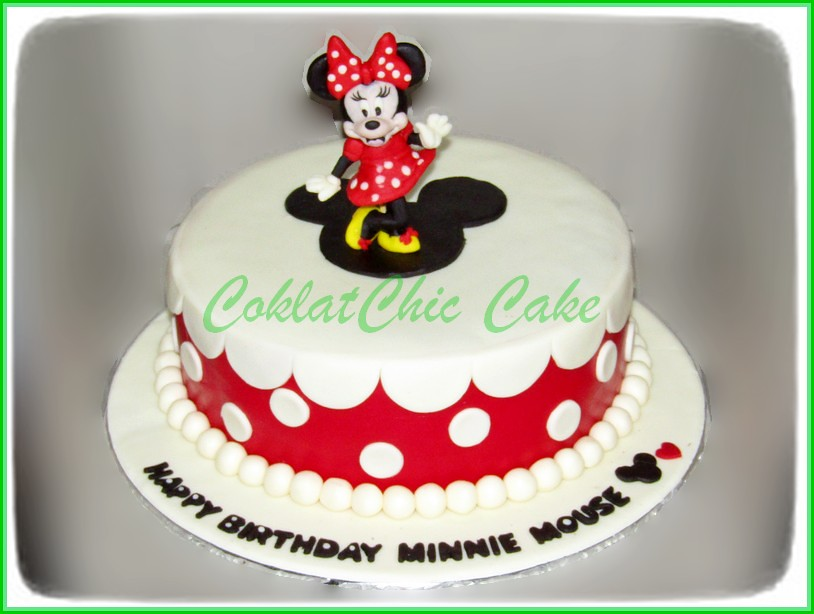 Cake Minnie Mouse 20 cm