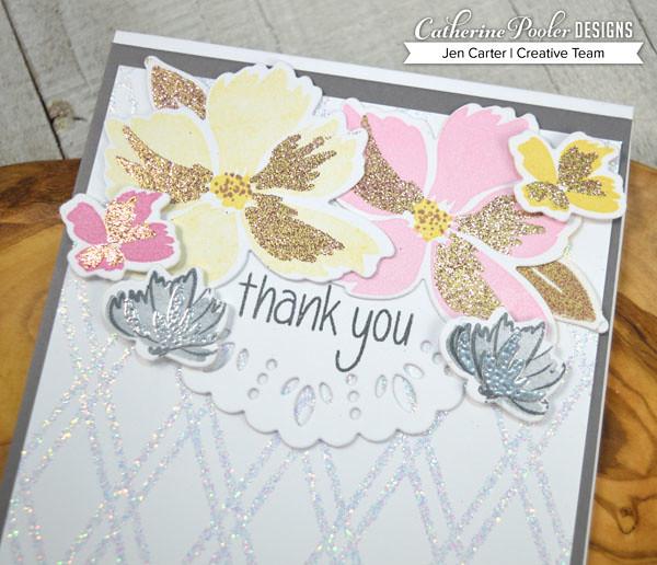 Jen Carter CP BFF Wonderful Wildflowers Thanks Closeup 1