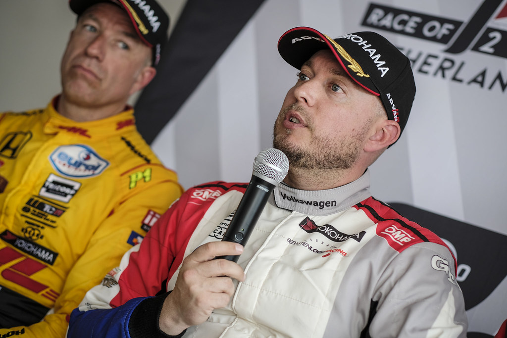 HUFF Rob, (gbr), Volkswagen Golf GTI TCR team Sebastien Loeb Racing, portrait during the 2018 FIA WTCR World Touring Car cup of Zandvoort, Netherlands from May 19 to 21 - Photo Francois Flamand / DPPI