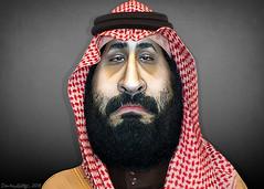 Mohammad bin Salman - Caricature