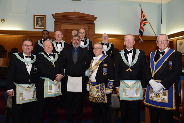 2018 05 02 Official Visit - Burlington Lodge No. 165