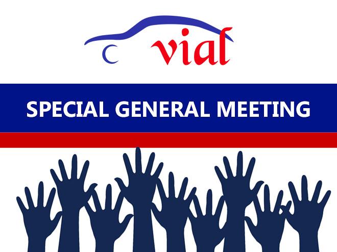 Special General Meeting විශේෂ  මහ සභා රැස්වීමක්  2018 මැයි මස 26 වන සෙනසුරාදා දින