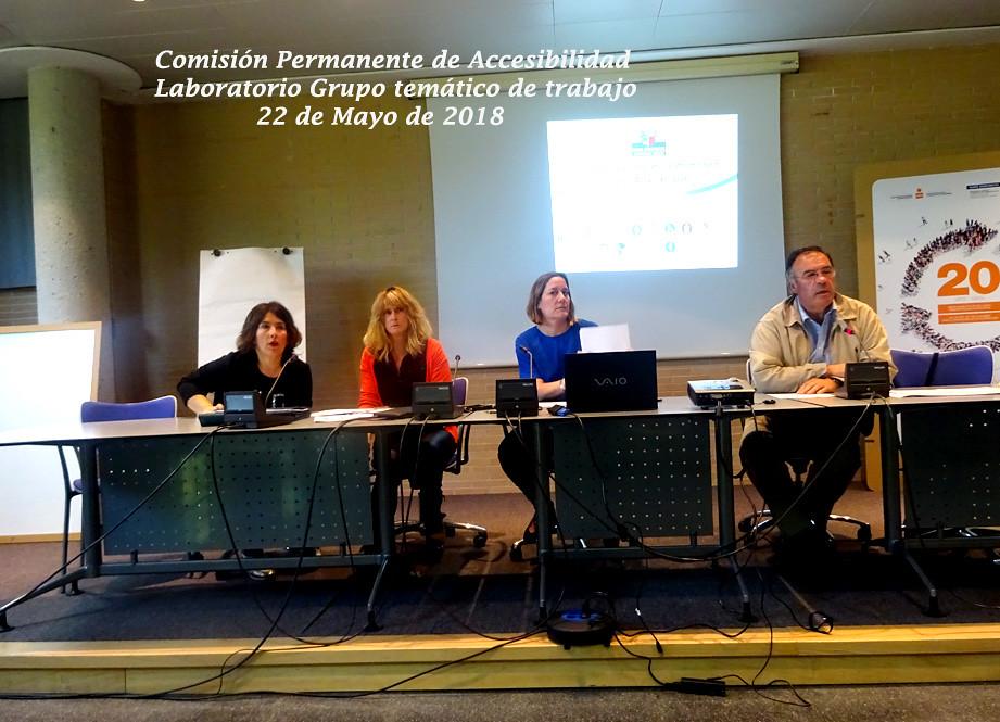 Comisión de Accesibilidad. Mayo 2018.