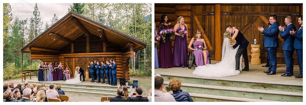 Wedding Ceremony - Mount Robson BC