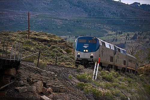 AMTRAK TRAIN 6