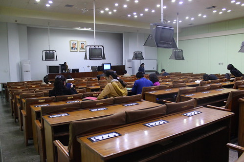 National library of North Korea, chinese course