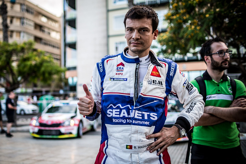 MAGALHAES Bruno (prt), SKODA FABIA R5, portrait during the 2018 European Rally Championship ERC Rally Islas Canarias, El Corte Inglés,  from May 3 to 5, at Las Palmas, Spain - Photo Thomas Fenetre / DPPI