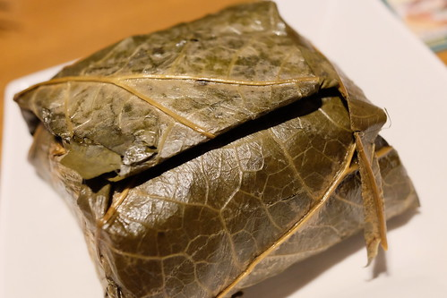 sticky Rice in Lotus Leaf 蓮の葉ちまき