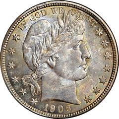 1906-D Half Dollar obverse