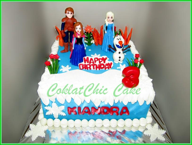 Cake Disney Frozen KIANDRA 20 cm
