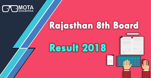 rajasthan 8th board result