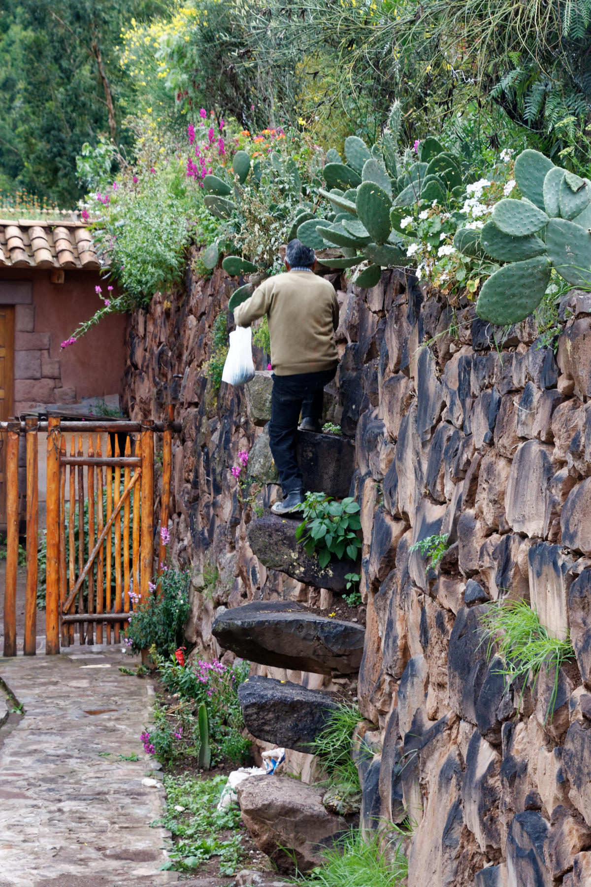 Pisac - an Inca staircase