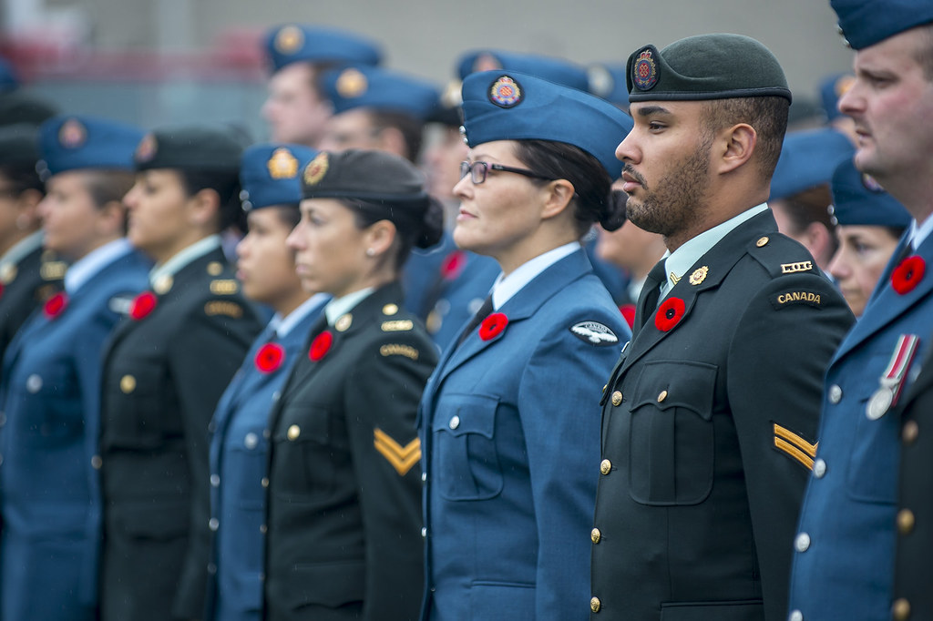 2015 Remembrance Day Ceremony in Trenton