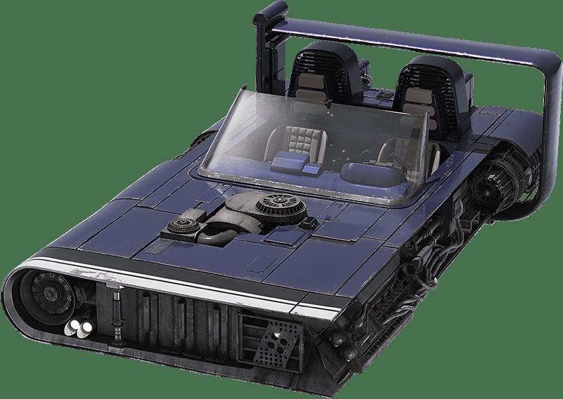 Mobquet M-68 Lanspeeder