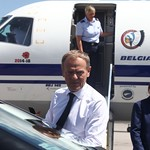 European Council President Donald Tusk Arrives at Sofia Airport ahead of the EU - Western Balkans Summit