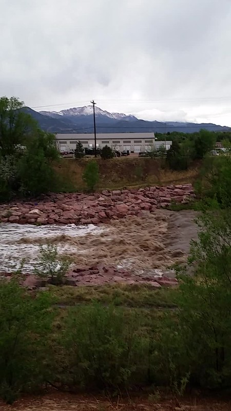 Monument Creek Raging After Storm