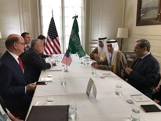 Deputy Secretary Sullivan Meets With Saudi Arabia Foreign Minister Adel al-Jubeir  in Buenos Aires