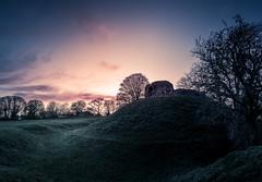 Wiston Castle Sunset