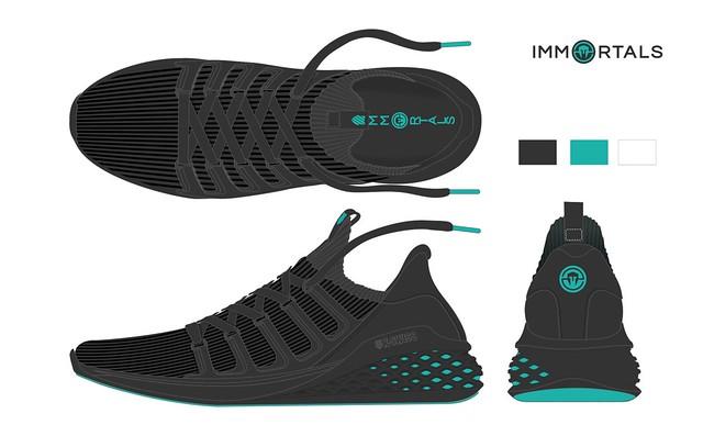 Immortals K-Swiss Shoe