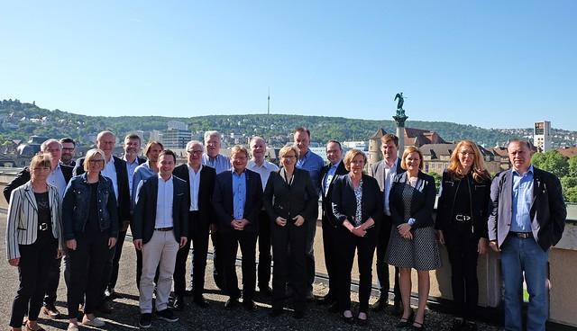 Innenpolitische SPD Fachsprechertagung Stuttgart Mai 2018