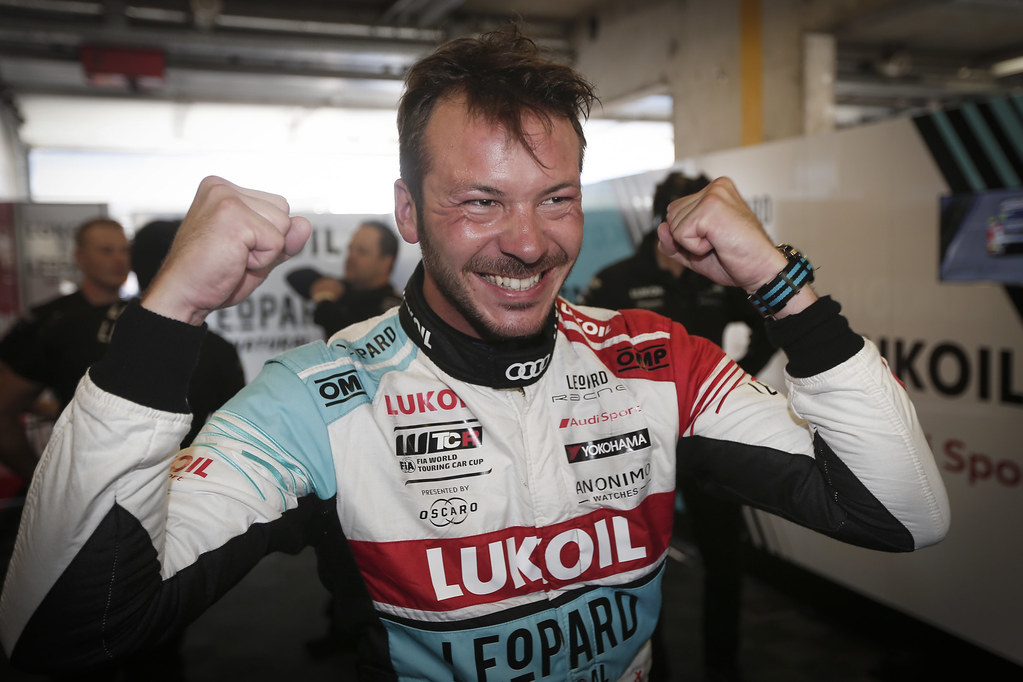 VERNAY Jean-Karl, (fra), Audi RS3 LMS TCR team Audi Sport Leopard Lukoil, portrait, pole position during the 2018 FIA WTCR World Touring Car cup of Zandvoort, Netherlands from May 19 to 21 - Photo Jean Michel Le Meur / DPPI