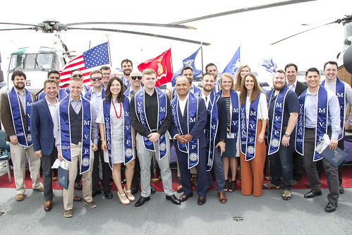 2018 Military & Veteran Grad Celebration, USS Midway