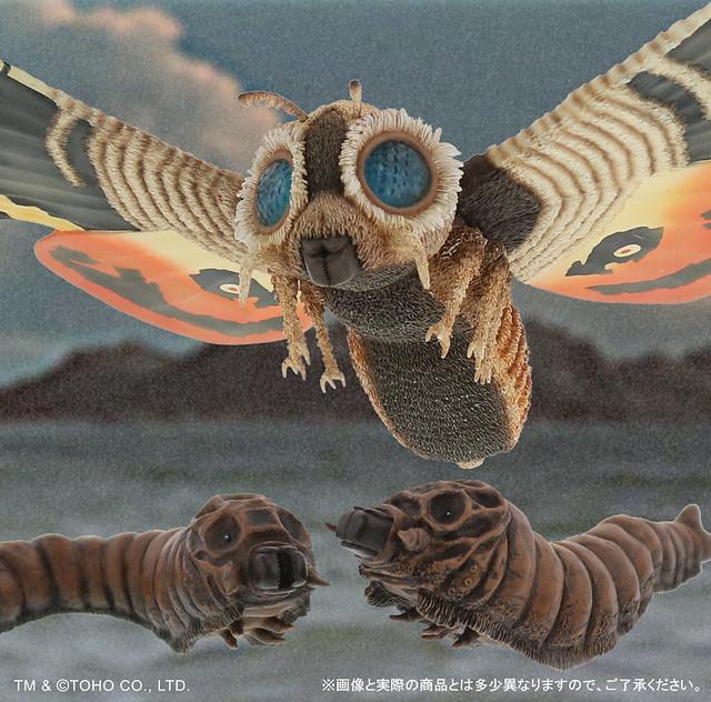 X-PLUS《東寶大怪獸系列》摩斯拉(1964)  DX版本 【少年RIC限定】!モスラ(1964) DXセット ショウネンリック限定商品