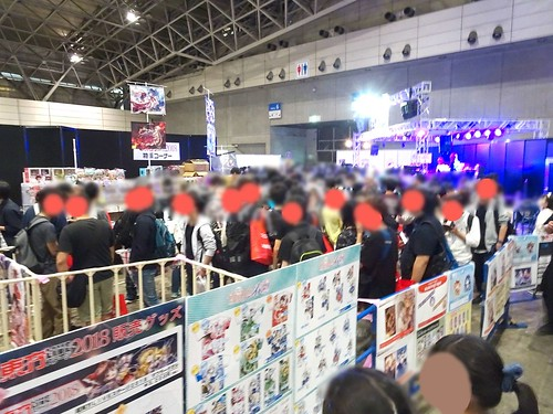 ニコニコ超会議の混雑~人気ステージ