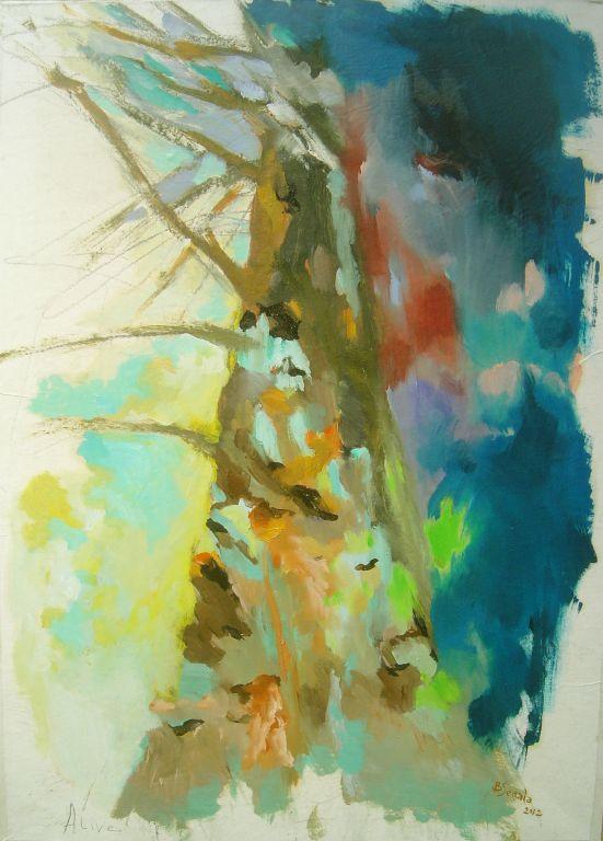 Alive - 78x56 cm 2012